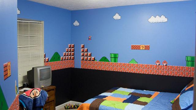 Mario-Bedroom